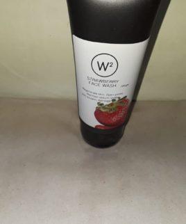 W2 Strawberry face wash