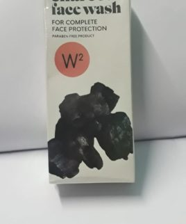 W2 charcoal face wash